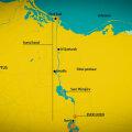 GRAAFIK | Suessi kanalis kinni olev hiigellaev õnnestus osaliselt vabastada