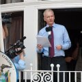 FOTOD ja VIDEO LONDONIST: Vaata Julian Assange'i kõnet täispikkuses!