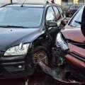 Viljandis põrkasid eile kokku kolm autot, inimesed ses õnnetuses kannatada ei saanud,