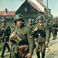 Saksa armee 1941. aasta suvel marssimas