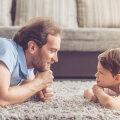 Ema toob lapse ellu hingestatud tundeelu ja isa loogiliselt mõtestatud tähendused.