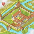 Üks visioon sellest, missugune klooster välja näha võis.