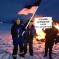 FOTOD ja VIDEO: Eesti ja Läti põllumehed süütasid protestilõkked