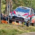 Nii lendasid Ott Tänak ja Martin Järveoja Soome trampliinirikkal teel võidu poole.