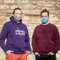 Iduettevõtjad Sten Tamkivi (vasakul) ja Taavet Hinrikus teevad ühise investeerimisfirma.