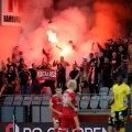 Velezi fännid 5. augustil UEFA Konverentsiliiga mängul.
