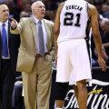 Maailma tipus: Näis, kas legendaarsel treenereril Popovichil õnnestub ka sel aastal Tim Duncan ning teised hoolealuseid San Antonio Spursi tiimist NBA tiitlivõiduni juhtida.