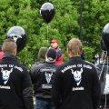 VIDEO ja FOTOD: Odini sõdalased pidasid vihma käes miitingut