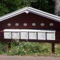 Soome maapiirkonna õdusatesse valgeks võõbatud postkastidesse võib Eestist kirja jõudmine pikemalt aega võtta.