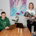 Edumuse turundusjuht Daniil Golubev ning tegevjuht ja asutaja Maria Rahamägi soovivad oma algatusega toetada Eesti haridust pikas perspektiivis.