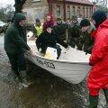 SUUR TORM: 2005. aasta alguses tabas Eestit suur torm, milles enim sai kannatada Pärnu.