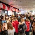 KFC avamine Ülemiste keskuses