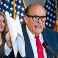 USA ekspresidendi Donald Trumpi ihuadvokaat Rudy Giuliani (fotol) korrutas pärast presidendivalimisi valet, nagu olnuks need võltsitud. Nüüd ootab teda ees kohtuprotsess.