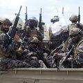 Talibani eriüksuslased 31. augustil Kabulis