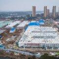 Koroonaviiruse tõttu ehitama hakatud Wuhani välihaigla (Huoshenshan Hospital) Hubei provintsis Hiinas valmis 2. veebruaril