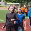 Noorte tantsupeo proov Pae staadionil 2017 aastal