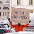 FOTOD | Kapo ees avaldati meelt korruptsiooni kaitseks