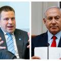 Ratas sõidab kohtuma Iisraeli peaministriga, kes tahab võita Baltikumi toetust