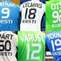 Eesti koondise mängijate särgid