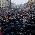 VIDEOD ja BLOGI | Moskvas toimusid kaootilised kähmlused märulipolitsei ja protestijate vahel, kümned inimesed said vigastada, üle 2000 peeti kinni