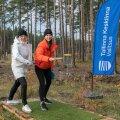 В столичном лесу Ярве открыли площадку для диск-гольфа для начинающих
