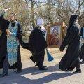 ВИДЕО   Против вируса с иконой: православные священники совершили объезд Таллинна