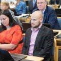Anto Liivat Tallinna linnavolikogus 2016. aastal
