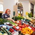 Liidia Richteri letil on kaupa nii Eestist kui ka välismaalt, et ostjad kõik asjad ühest kohast kätte saaksid.