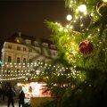 Tallinna Raekoja platsi jõuluturg.