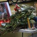Flowers laid in memory of TU-154 air crash victims
