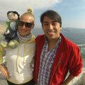Kohtasin Robertot, kes on seotud projektiga Collecting Smiles (naeratuste kogumine).