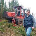 Riigihanke tulemusena  RMK koostööpartneriks saanud Kuldar Kiisleri eestvõtmisel  on Eesti–Vene kontrolljoonel  maha võetud ja välja veetud  juba rohkem kui 3500  tihumeetrit puitu.