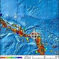 Saalomoni saarte lähistel tõi tugev maavärin kaasa tsunami
