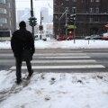 Lumest puhastamata Tallinn
