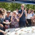FOTOD | Stroomi rannas avati uuendatud rannapark, lõigati linti ja jagati torti