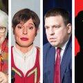 Кто станет новым президентом? Народ поддерживает Кальюлайд, Кальюранд и Ратаса. Им на пятки наступает неожиданный кандидат