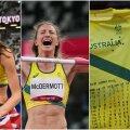 Nicola McDermott paistis olümpial silma omapärase käitumisega.