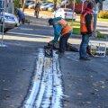Järjekordne liikluspiirang: elektriliinide paigaldustööde tõttu piiratakse Tallinnas Narva maanteel liiklust