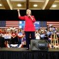 Hillary Clinton kuulutas end võitjaks Kentucky eelvalimistel, Oregonis võitis Bernie Sanders