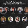 SUUR ÜLEVAADE | Prints Philipi matuste 30 külalist: kellele tähelepanu pöörata? Miks on kutsutud salapärane krahvinna Penelope?