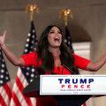 President Donald Trumpi poja elukaaslane Kimberly Guilfoyle