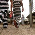 FOTOD: USA üks hullemaid vanglaid: roosas pesus kinnipeetavad elavad kütte ja jahutuseta telkides