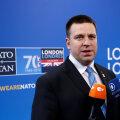 Eesti peaminister Jüri Ratas täna Londonis.