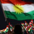 Vaba Kurdistani lipp lehvib praegu vaid Iraagi kohal.
