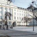 Ideekonkursi Konstantin Pätsi monumendi püstitamiseks Estonia teatri taha võitis Toivo Tammiku ja Vergo Verniku kavand.