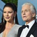 Õnnelik abielupaar: Catherine Zeta Jones ja Michael Douglas