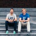 Wise'i kaasasutajad Taavet Hinrikus (vasakul) ja Kristo Käärmann teevad ettevõtte börsile viimisega ka hulga töötajaid miljonärideks.