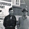 MEES NAGU RAAMATUS: Alfons Rebasest (paremal) sai John le Carré tegelase kindral Vladimiri prototüüp. Fotol Rebane koos USA Vahipataljoni sõduriga.