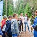 President Kersti Kaljulaid külastas kaitseliidu Alutaguse malevat