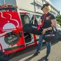 KIBE HEITLUS: Wolti tulek on kohalike toidukullerite hulgas tekitanud palju paksu verd